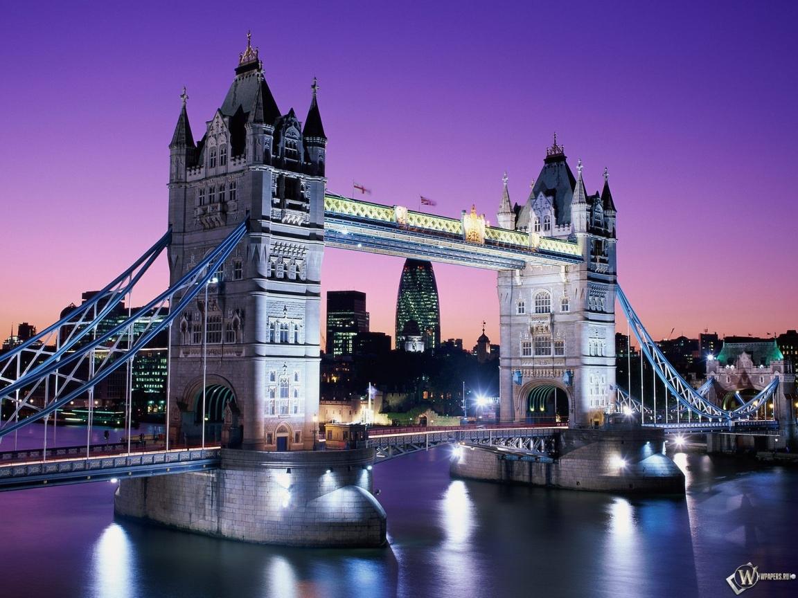 Тауэрский мост - Англия