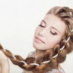 Свадебные прически с косами на длинные волосы