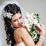 Как уложить длинные волосы в локоны для свадебной прически