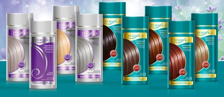 Тоники для окрашивания волос Тоника