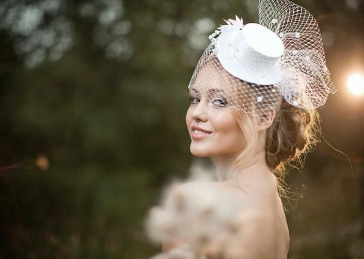 Шляпка для свадьбы 61