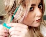 Как красить волосы с помощью пастельных мелков