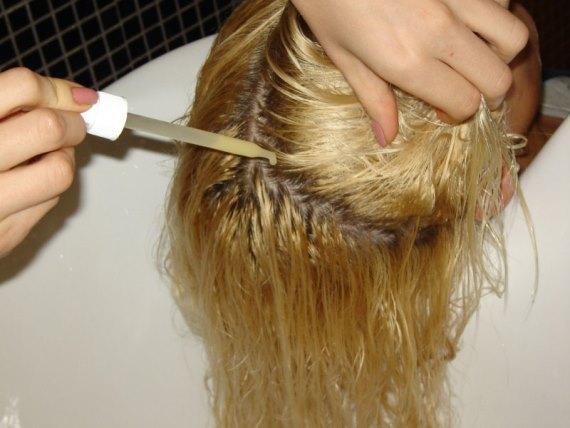 Средства для восстановления волос после осветления