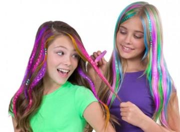 Как красить волосы пастельными мелками для волос