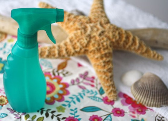 Солевой спрей для волос в домашних условиях