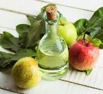 Как приготовить раствор для ополаскивания волос яблочным уксусом