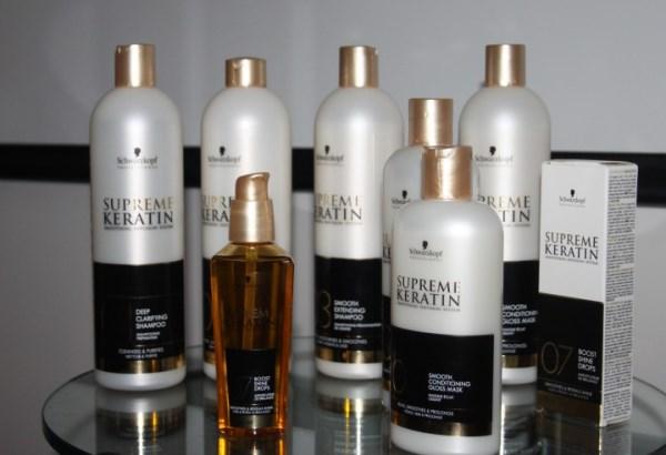 Кератиновые средства для выпрямления волос