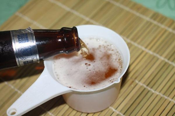 Как приготовить ополаскиватель для волос с пивом