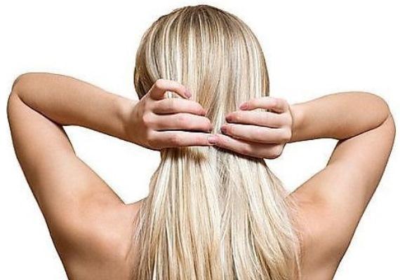 Осветление супрой длинных волос