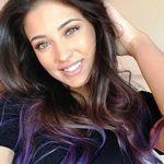 Способы окрашивания цветных прядей на темных волосах