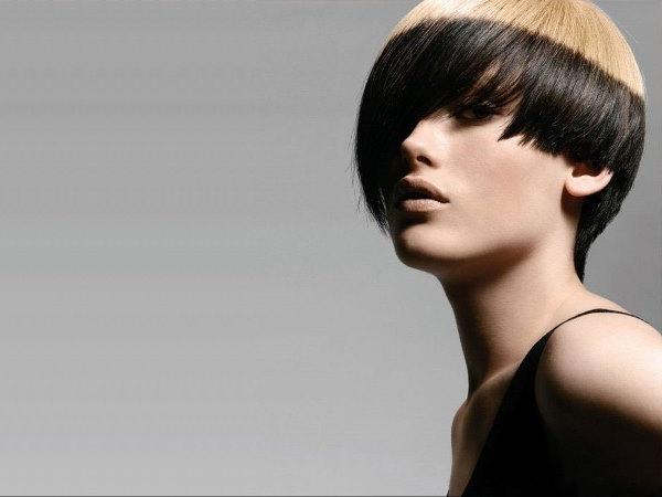 Сложности поперечного колорирования волос