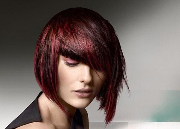 Как выполнить продольное колорирование волос
