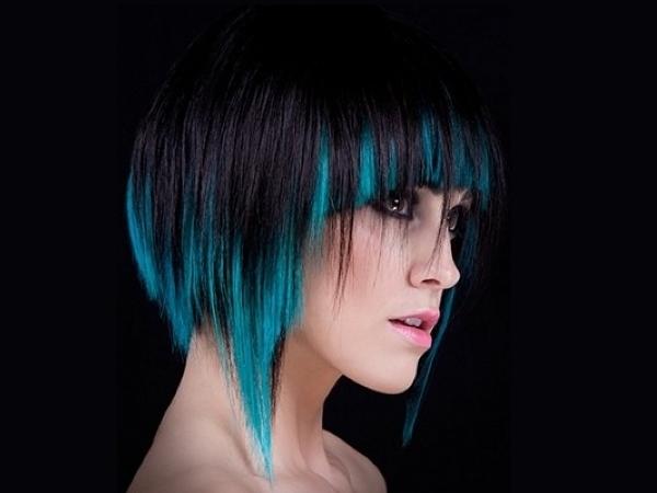 Преимущества колорирования волос цветными мелками