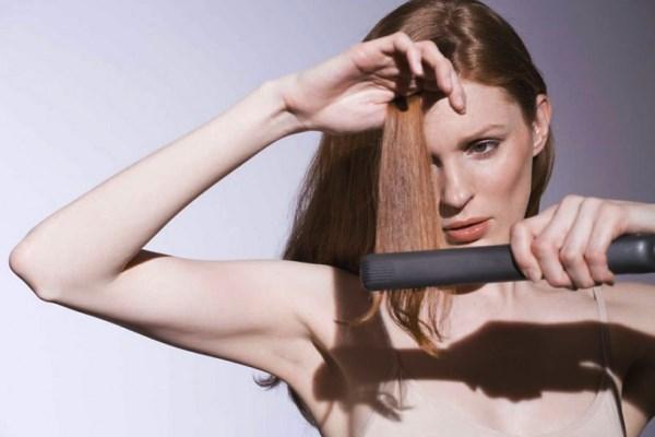 Инструкция по выпрямлению волос утюжком