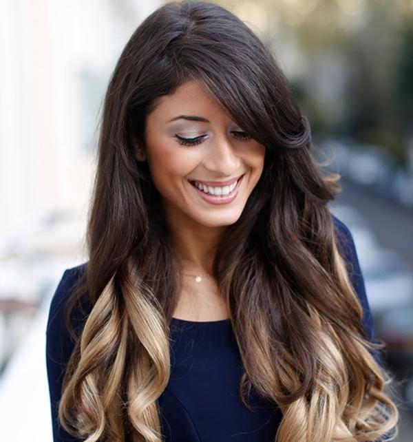 Как покрасить нарощенные волосы на капсулах