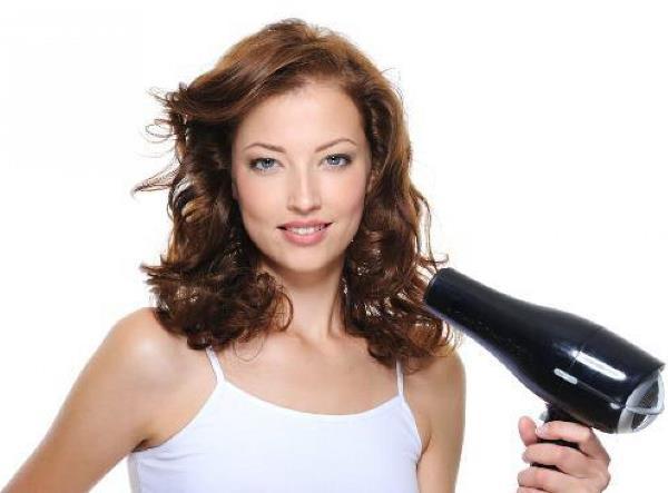 Методы укладки вьющихся волос